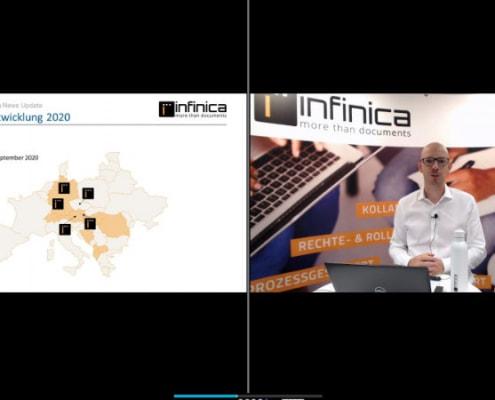 Presentation by Jürgen Pfalzer @ Infinica Day 2020