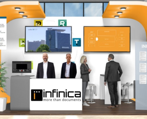Infinica booth @ Infinica Day 2020