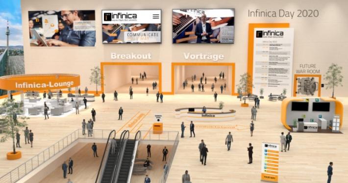 Die Umgebung des virtuellen Infinica Days